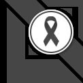 ริบบิ้นสีดำสำหรับติดมุมเว็บไซต์